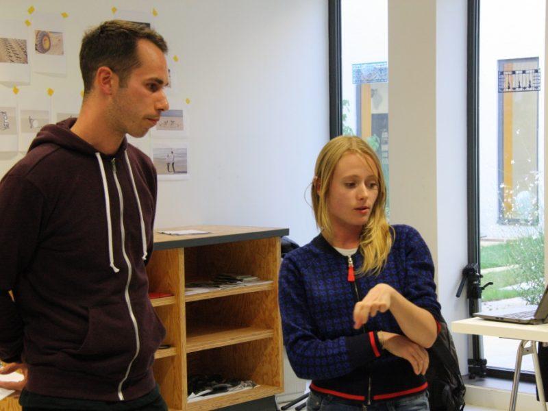 Temps d'échange autour du travail d'OPJ Cyganek et Julie Poulain