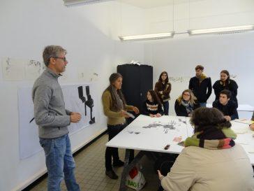 Visite de l'Académie des Beaux-Arts de Tournai et découverte de «L'art dans la ville»