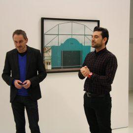 Vernissage de l'exposition «Frontons» le 25 novembre