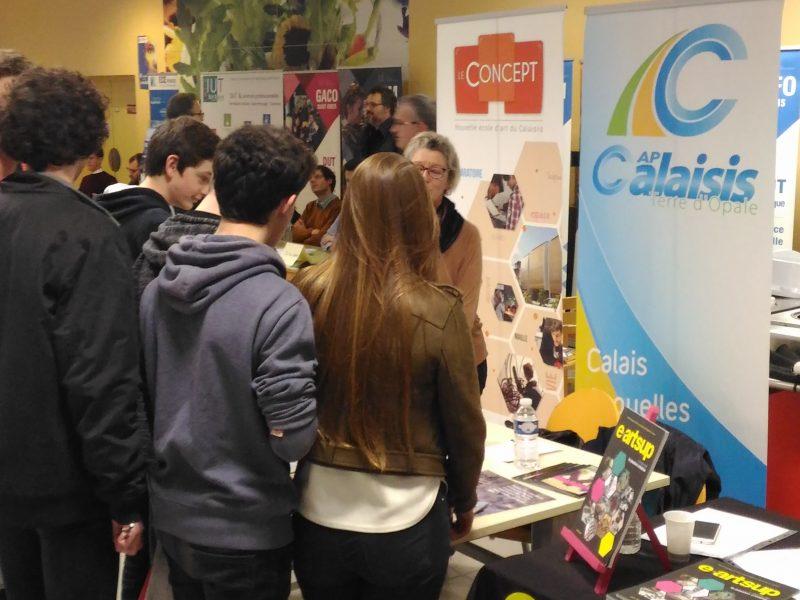 L'école d'art était au Forum d'orientation post-Bac organisé par le lycée Saint-Pierre