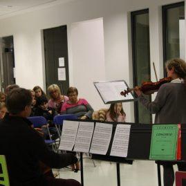 Musikacordes à l'école d'art, le 25 janvier 2017