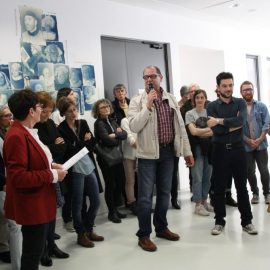 Vernissage de l'exposition « Vlaams », le 30 mars 2017