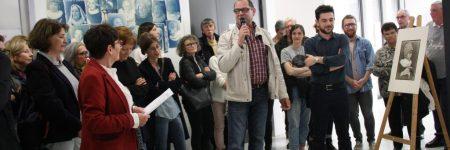 Vernissage de l'exposition «Vlaams», le 30 mars 2017