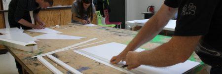 Atelier autour de l'exposition «Turn around», le 27 juin