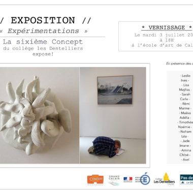 Exposition «Expérimentations»