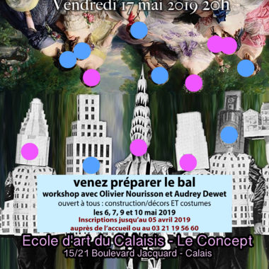 Workshop : Les arts en BAL – 6, 7, 9, 10/05
