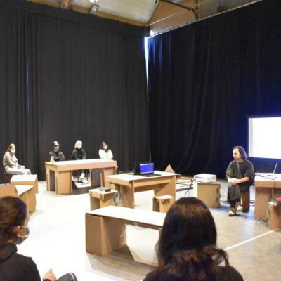 Workshop au Channel, Scène Nationale avec la classe prépa