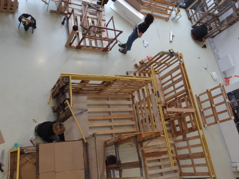 « Architectures/espaces de travail covido-compatibles » / Workshop avec Laurent Tixador