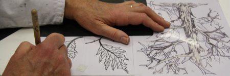 L'atelier gravure adultes en images