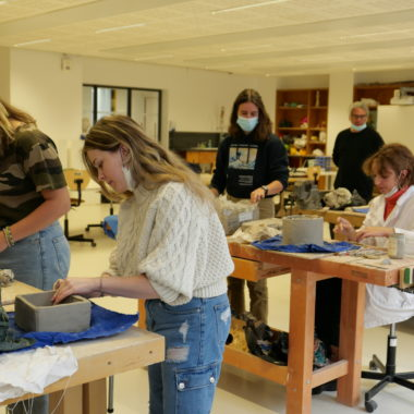 Classe prépa : découvrir l'école d'art et mieux comprendre les objectifs de la formation