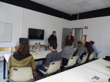 Visite de l'ESA Dunkerque Tourcoing